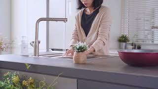 [홍보영상] 주방수전기 두진바스 광고 홍보영상, 주방용…