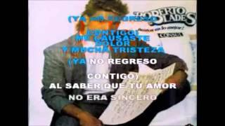 Roberto Blades - Ya no regreso contigo (Karaoke Completo con coros)