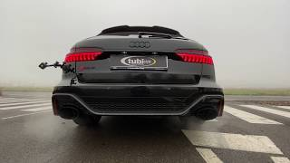 Audi RS6 C8 - Tubi Style Exhaust