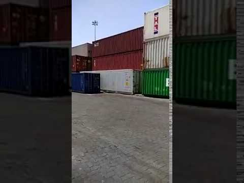 Container yard at Nhava Sheva JNPT Port, Mumbai, India@Navigo Exports Pvt Ltd
