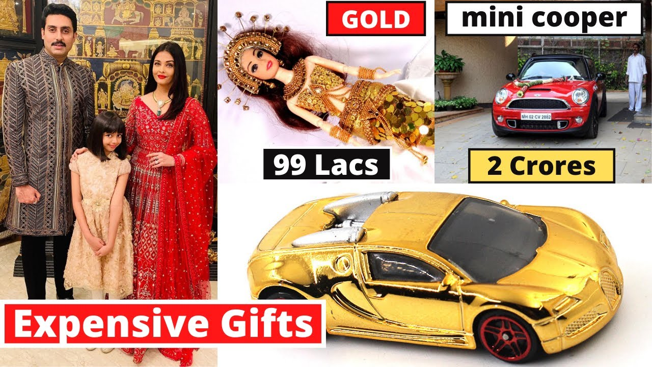 10 Most Expensive Gifts Star Kids Ever Received From Their Parents