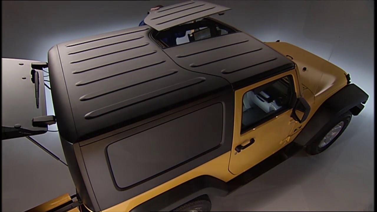 Freedom Top™ Removal How To Remove The Jeep Hardtop On 2018 Jeep Wrangler  (JK)