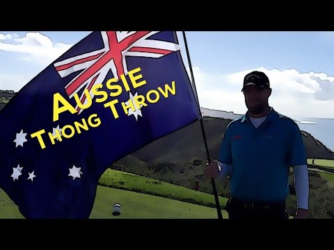 Throwing Thongs For Australia Day