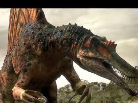 Spinosaurus vs T-rex - YouTube