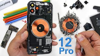 iPhone 12 Pro Teardown  Where are the Magnets?!