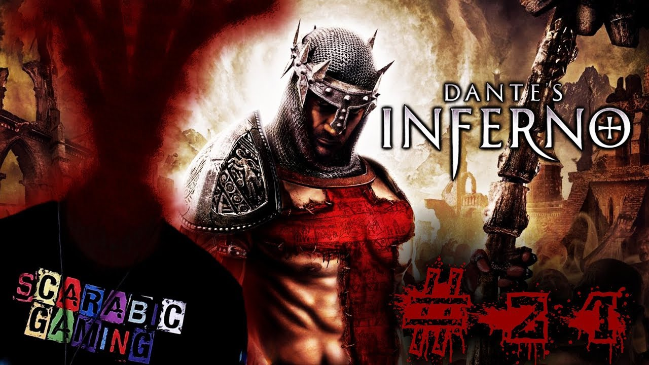 Dantes Inferno - Lucifer Final Boss fight and ending part