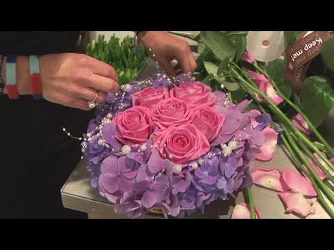How To Arrange Wedding Flowers  YouTube