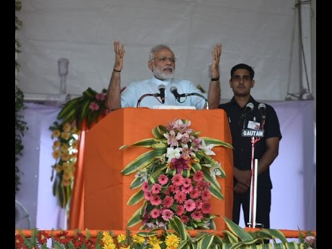 PM Modi's speech at Public Meeting in Gorakhpur, Uttar Pradesh