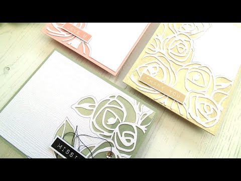 Lydia's Crafty Corner- Creating A Cover Die Effect Using Sin