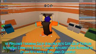 Oyuna Keycard İle Başlama ! - Jailbreak