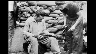 French Resistance Fighters Battle for Paris - 1944 - Restored