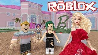 Nós visitamos a mansão da BARBIE 🔮 ROBLOX Rolplay