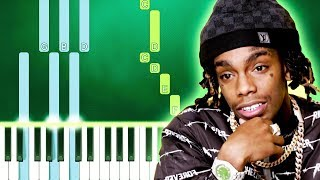 YNW Melly - Suicidal (Piano Tutorial Easy) By MUSICHELP