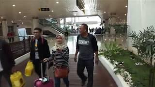 Gate Kedatangan di Bandara Sepinggan Balikpapan (24-12-2017)