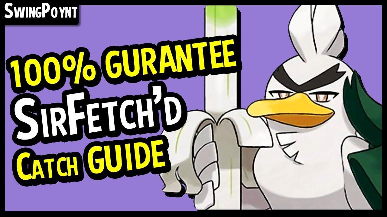 Download Galar Farfetch'd + SirFetch'd 100% GURANTEE Evolution Guide - Sword Exclusive (Pokemon Sword Shield)
