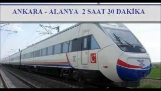 Konya-Alanya Arası Hızlı Tren Projesi