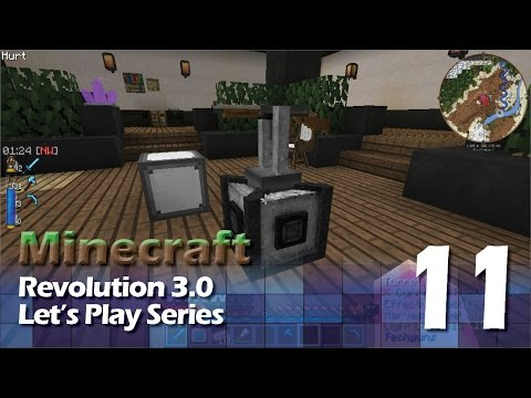 Minecraft: Revolution 3 Let's Play #11 - Turret Acquired