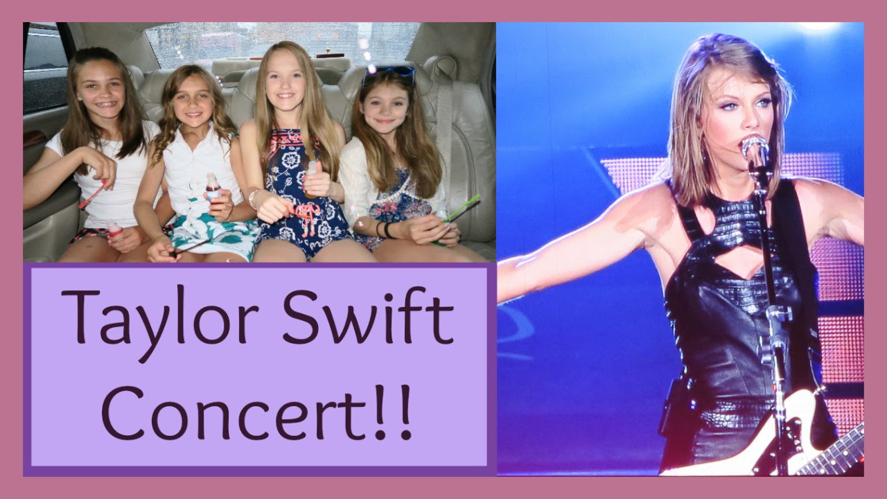 AMAZING SURPRISE - - - TAYLOR SWIFT CONCERT! - YouTube