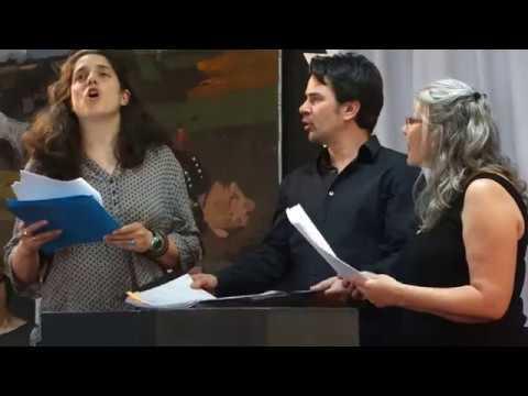 """""""Voix De Guerre Voix De Paix"""" à La Bibliothèque Elsa Triolet à Pantin"""