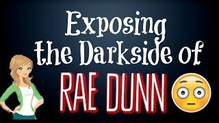 RAE DUNN HORROR | DARK SIDE OF RAE DUNN COLLECTING | EXPOSING THE DARK SIDE OF RAE DUNN COLLECTING