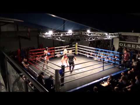NM i thaiboksing 2015 - finale -81 kg.