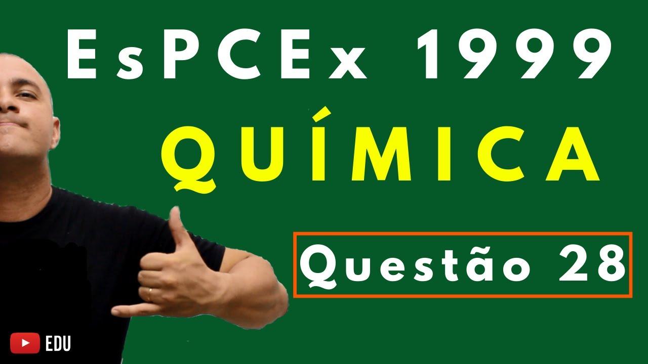 [Questão Comentada] - EsPCEx 1999 - Tema: CHUVA ÁCIDA E CÁLCULO ESTEQUIOMÉTRICO
