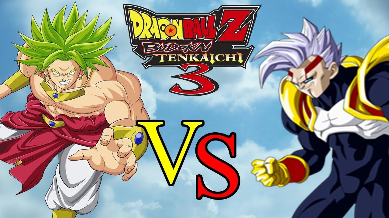 Broly lss vs baby vegeta dragon ball z budokai tenkaichi - Dragon ball z baby broly ...