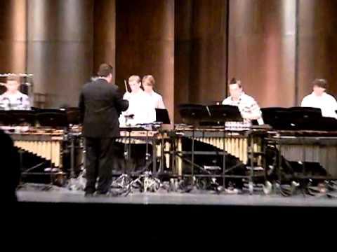 BAHS Percussion Ensemble: Layers by Lynn Glassock