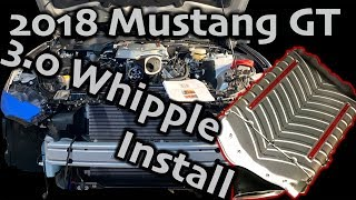 2018 Mustang GT - 3.0 Whipple Install: Day 1