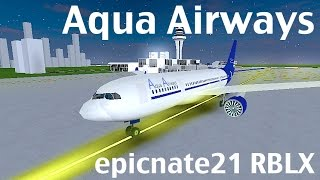 ROBLOX | Aqua Airways A330-200 Flight