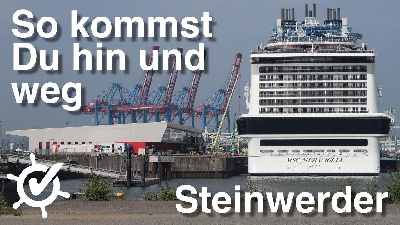 Cruise Center Steinwerder: So kommst du hin und weg (ohne Auto und Reederei) - Hamburg