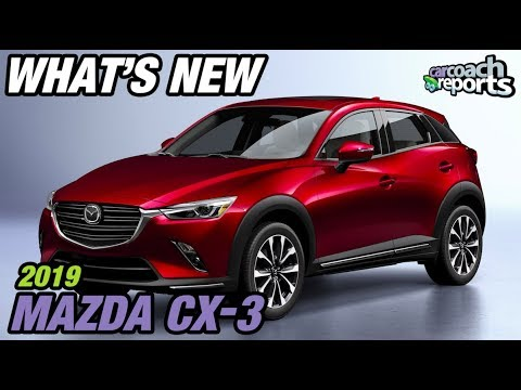 What S New 2019 Mazda Cx3 Youtube