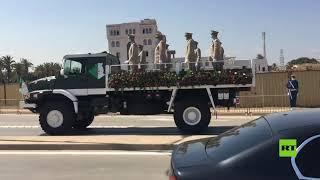 الجزائر تودع رئيسها الراحل عبد العزيز بوتفليقة إلى مثواه الأخير
