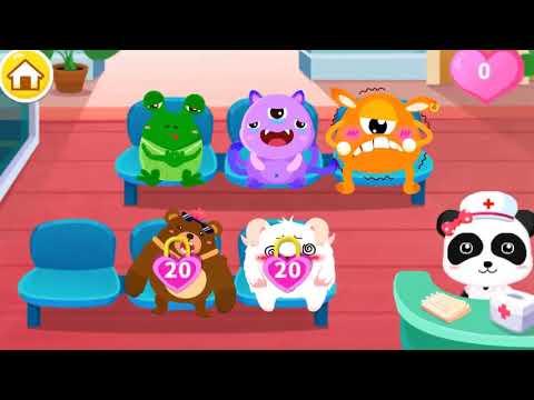 Baby Panda Kids Learn Cooking Baby Panda Doctor Hospital - Educational Kids Game