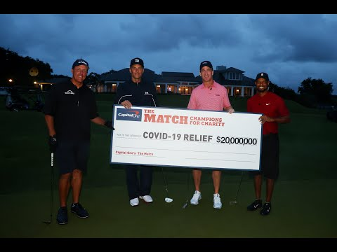 Tiger Woods & Peyton Manning vs. Phil Mickelson & Tom Brady (FULL RECAP) | Capital One's The Match