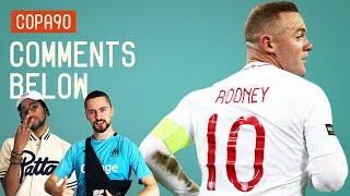Where Does Rooney Rank Amongst England