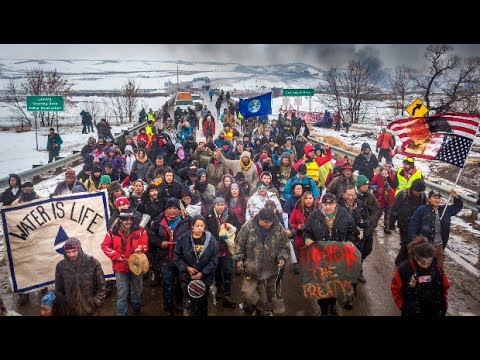 """Military Firm Used """"War on Terror"""" Tactics Against Standing Rock Protest"""