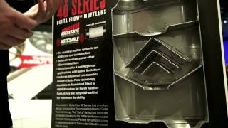 Flowmaster 40 Series Delta Flow Mufflers Review - SEMA 2013