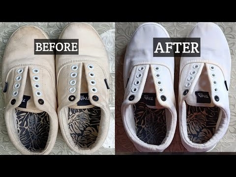 How to clean and whiten your shoes (SOBRANG EASY)