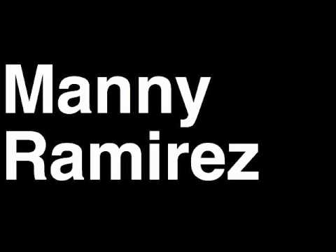 How to Pronounce Manny Ramirez Denver Broncos NFL Football Touchdown TD Tackle Hit Yard Run