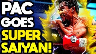 BEAST MODE!! 3 times Manny Pacquiao WENT CRAZY during a fight!