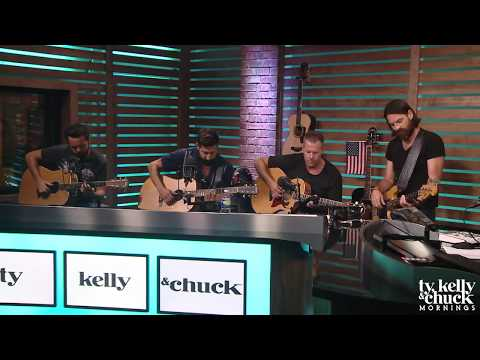 "Old Dominion Performs ""Written In The Sand"" Acoustic"