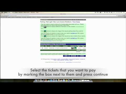 How to pay your New York City parking tickets online