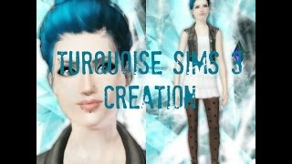 Turquoise Sims 3 Creation + Download Link
