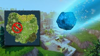 TILTED TOWERS DESTROYED BY METEOR IN FORTNITE!