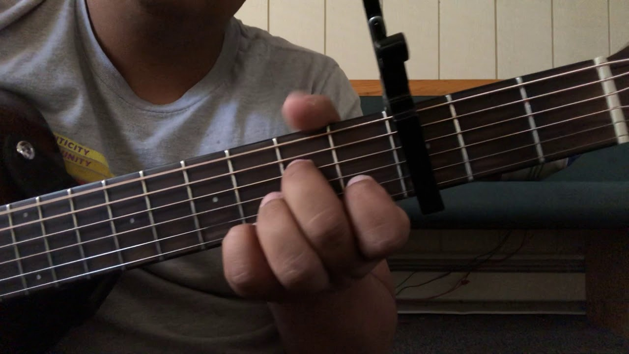 Guitar tutorials – crossover – Travis Greene