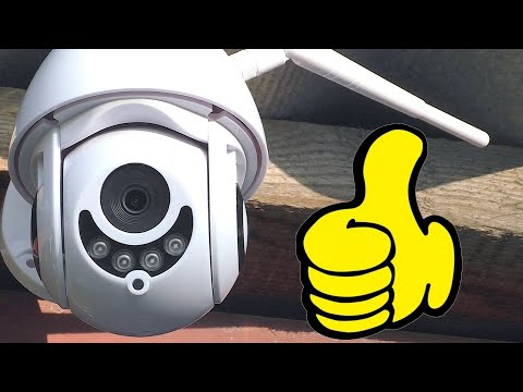 Взял PTZ камеру С АЛИЭКСПРЕСС и не прогадал | Видеонаблюдение для дома и дачи + Конкурс