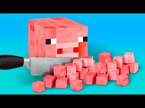 9 Cách Tự Làm Đồ Dùng Học Tập Fortnite Và Đồ Dùng Học Tập Minecraft