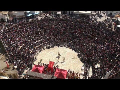 فيديو: مهرجان يستعيد أمجاد تونس الرومانية في المهدية  - نشر قبل 2 ساعة