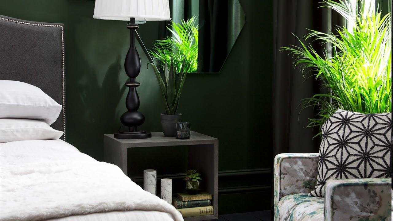 Bedroom Ideas For A Luxurious Dark Green Decor Youtube